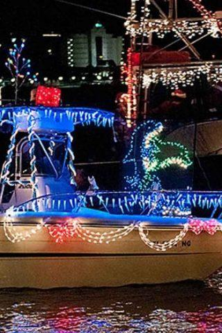 Pensacola Beach Lighted Boat Parade